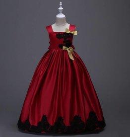 Meisjeskleding Feestjurk Esmée - rood