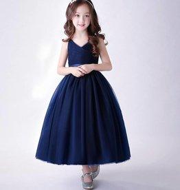 Meisjeskleding Feestjurk Emilia - blauw