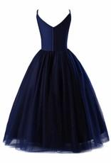 Meisjeskleding Meisjes Feestjurk Emilia - blauw