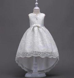 Meisjeskleding Feestjurk Jessie - wit
