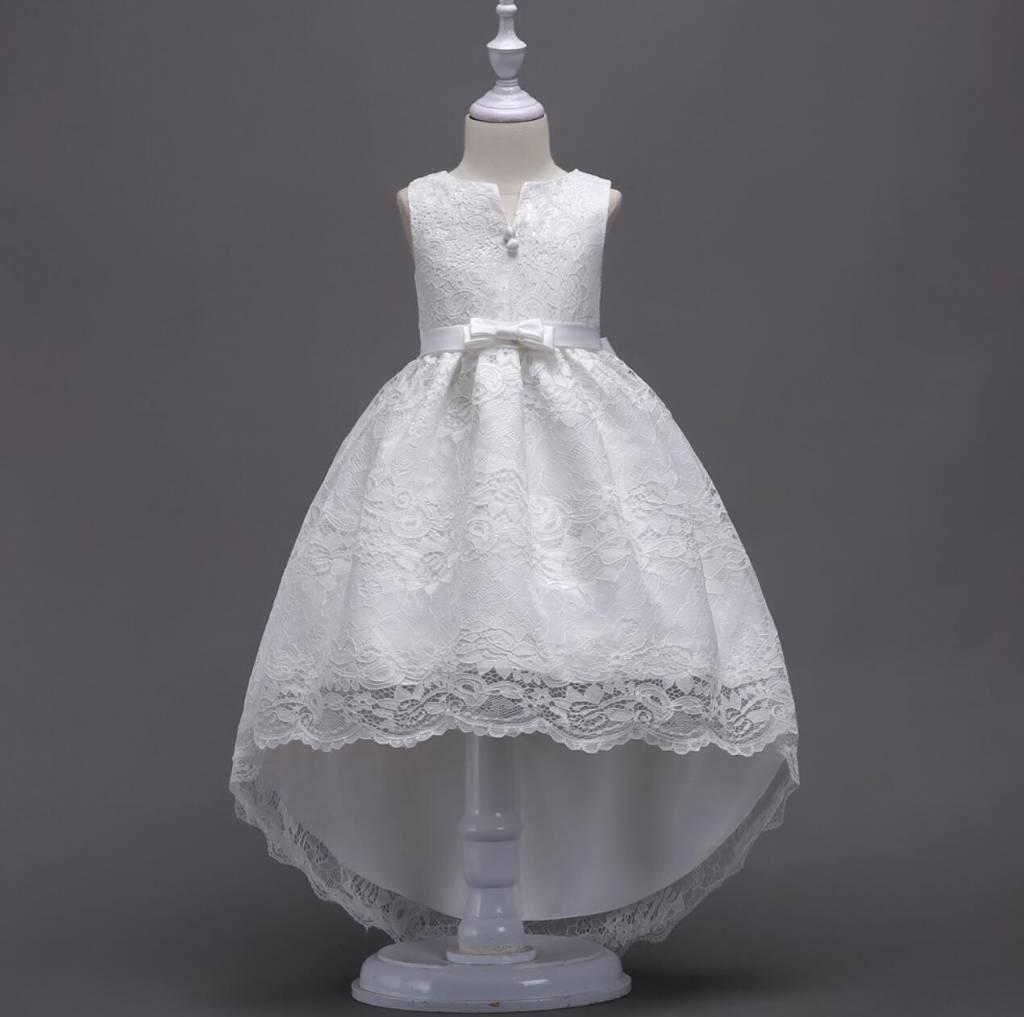 Meisjeskleding Meisjes Feestjurk Jessie - wit