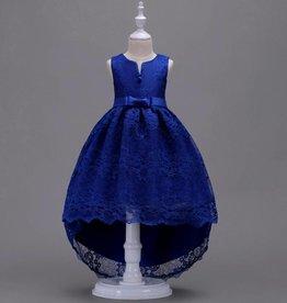 Meisjeskleding Feestjurk Jessie - blauw