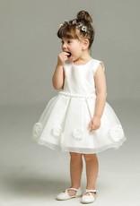 Meisjeskleding Meisjes Feestjurk Lieve - wit