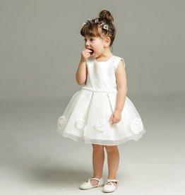 Meisjeskleding Feestjurk Lieve - wit