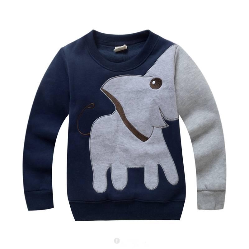 Jongenskleding Olifant Jongens Sweater - donkerblauw