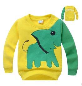 Jongenskleding Olifant Sweater - geel