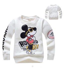 Jongenskleding Mickey Mouse Sweater - wit