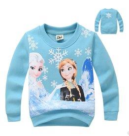 Meisjeskleding Frozen Sweater - lichtblauw