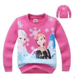 Meisjeskleding Frozen Sweater - roze