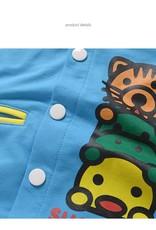 Jongenskleding Diertjes Jongens Sweatvest - blauw