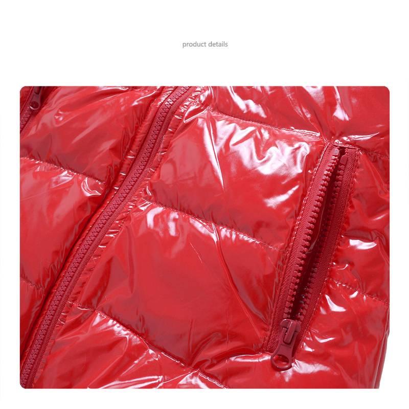 Meisjeskleding Meisjesjas - rood
