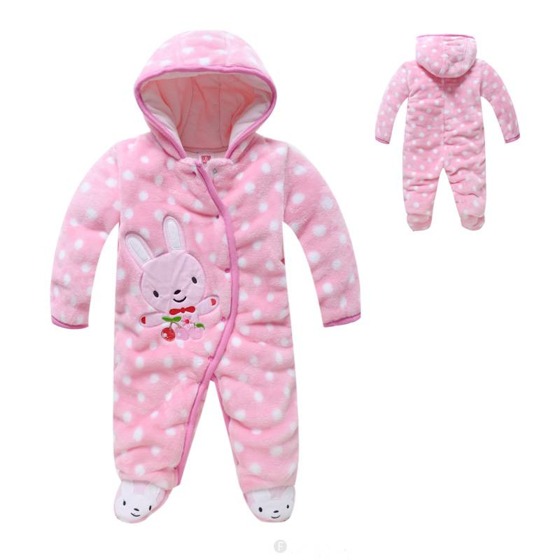 Roze Babykleding.Babykleding Konijntje Meisjes Boxpakje Met Capuchon Roze