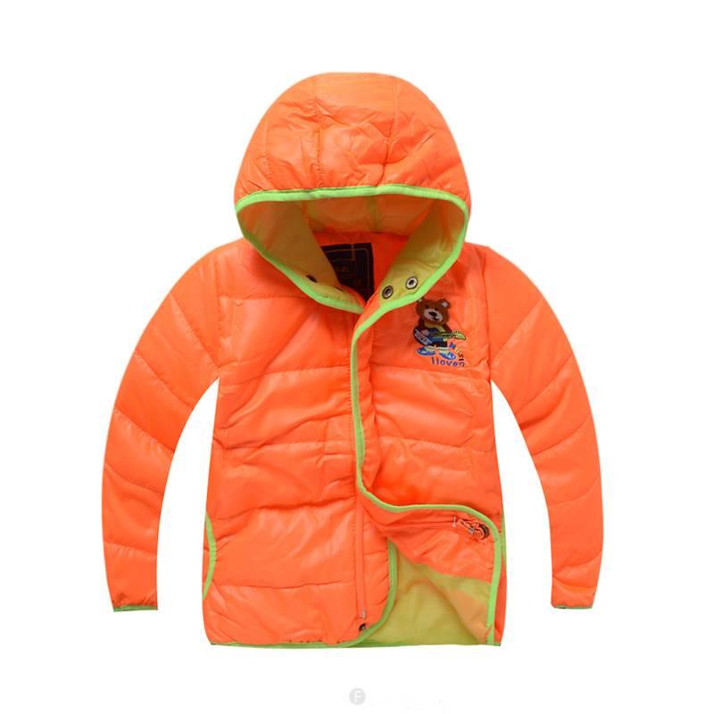 Jongenskleding Jongensjas - oranje