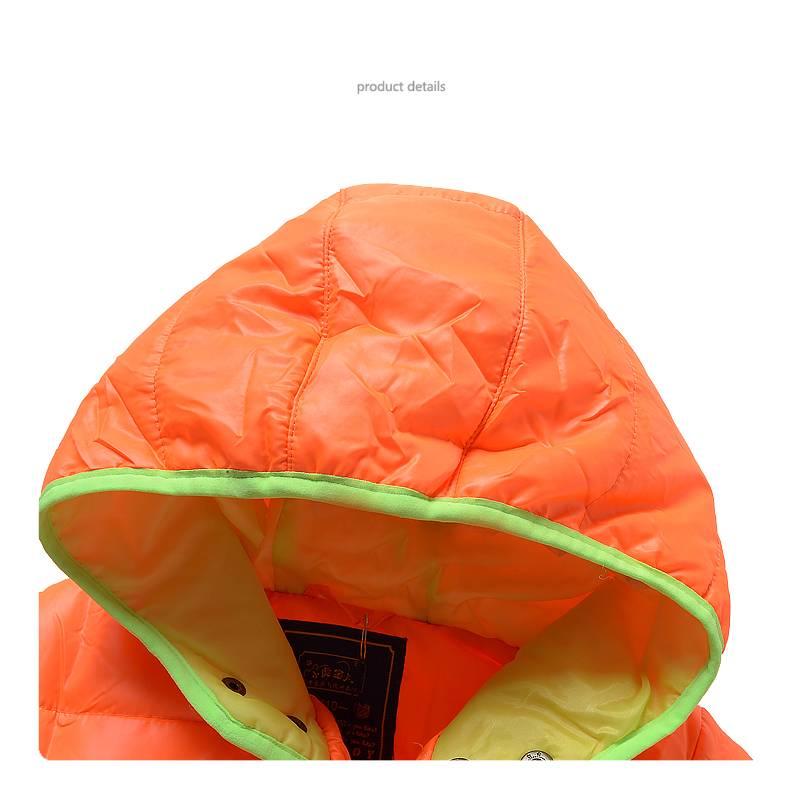 LaraModa Jongensjas - oranje