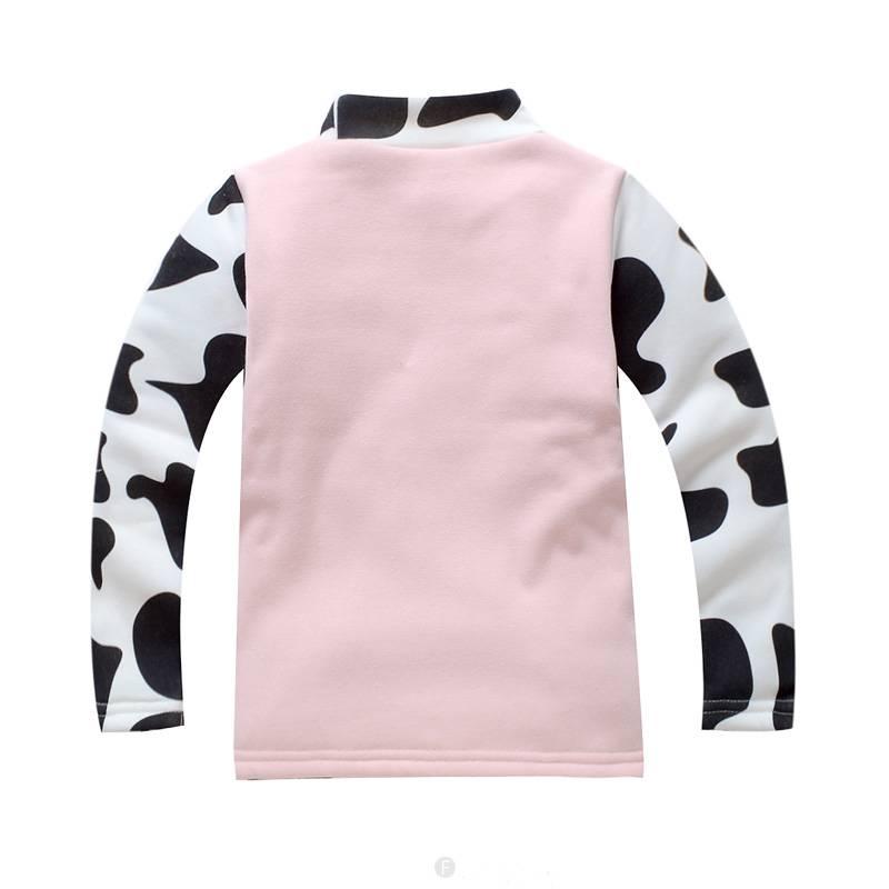 Meisjeskleding Koe Meisjes Sweater - roze
