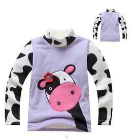 Meisjeskleding Koe Sweater - paars
