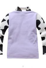 Meisjeskleding Koe Meisjes Sweater - paars