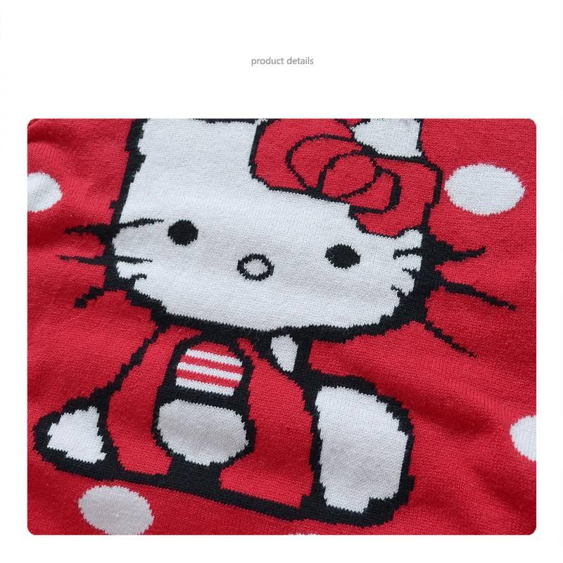 Meisjeskleding Hello Kitty Meisjes Trui - rood