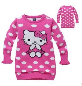 Meisjeskleding Hello Kitty Trui - roze