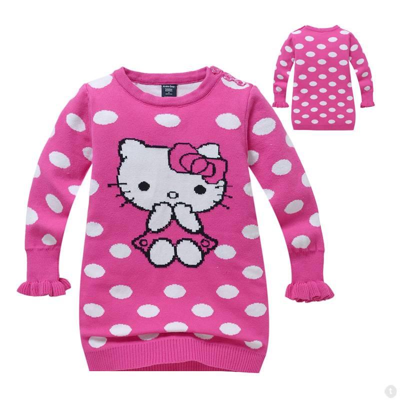 c0634b1ad51 Kinderkleding - Hello Kitty Meisjes Trui - roze