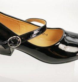 Meisjesschoenen Spaanse schoentjes - lak - zwart