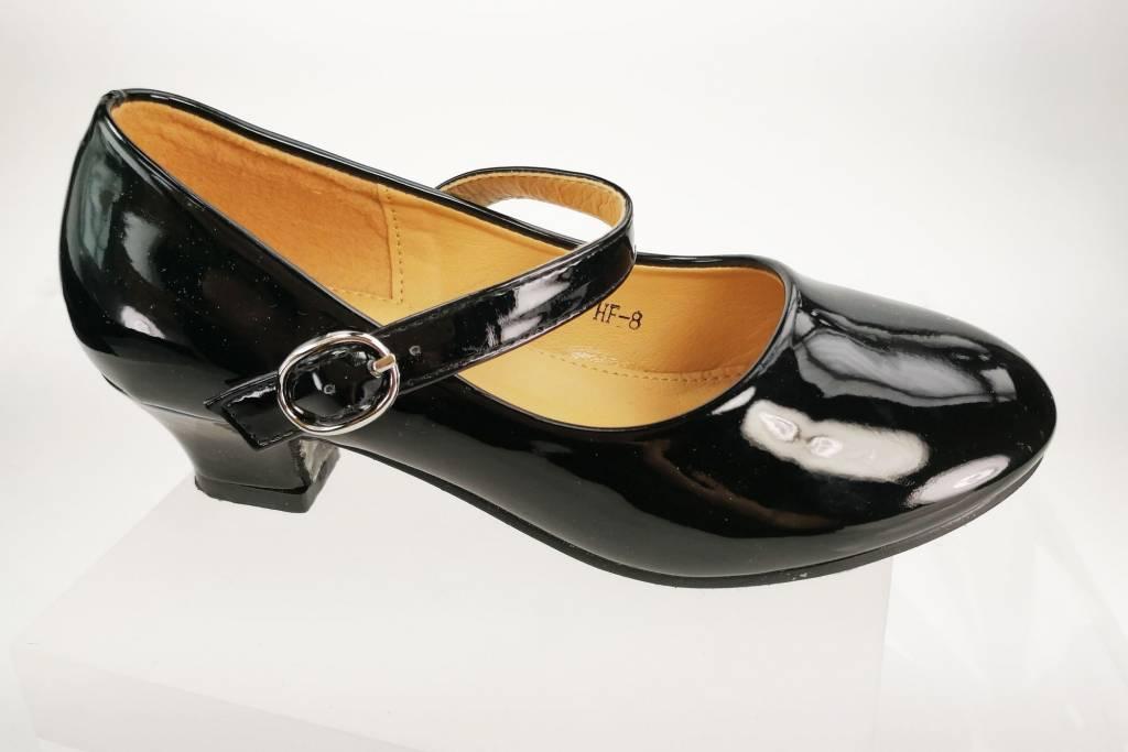 Meisjesschoenen Meisjesschoen - Pumps - lak - zwart