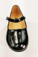 Meisjesschoenen Meisjesschoen - Spaanse schoentjes - lak - zwart