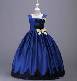 Meisjeskleding Feestjurk Esmée - blauw