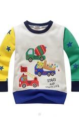 Jongenskleding Beertjes Stars and Vehicles Jongens Sweater