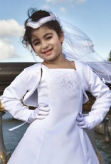 Meisjeskleding Meisjes Feestkleding - Bolero - wit