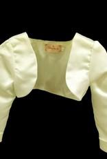 Meisjeskleding Meisjes Feestkleding - Bolero - gebroken wit