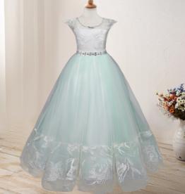Meisjeskleding Feestjurk Nova - baby groen