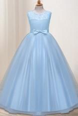 Meisjeskleding Meisjes Feestjurk Olivia - blauw