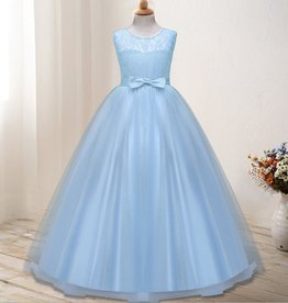 Meisjeskleding Feestjurk Olivia - blauw