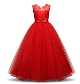 Meisjeskleding Feestjurk Olivia - rood