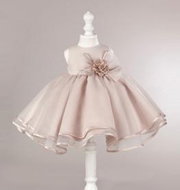 Meisjeskleding Feestjurk Laura - peachy pink