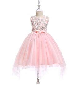 Meisjeskleding Feestjurk Carien - roze