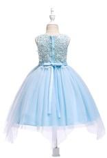 Meisjeskleding Meisjes Feestjurk Carien - blauw