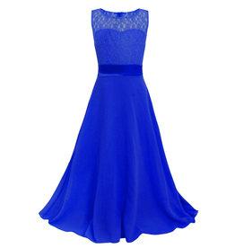 Meisjeskleding Feestjurk Bella - blauw