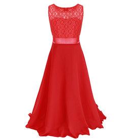 Meisjeskleding Feestjurk Bella - rood