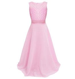 Meisjeskleding Feestjurk Bella - roze