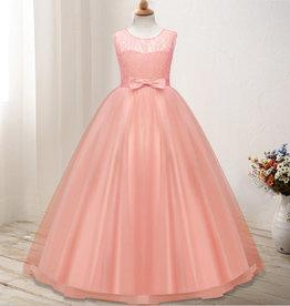 Meisjeskleding Feestjurk Olivia - roze / zalmroze