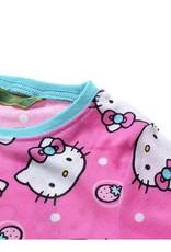 Meisjespyjama's Hello Kitty Meisjes Pyjama - roze / blauw