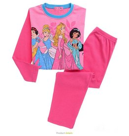 Meisjespyjama's Disney Prinsesjes Pyjama - roze