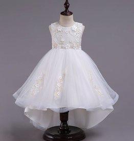 Meisjeskleding Feestjurk Camila - wit
