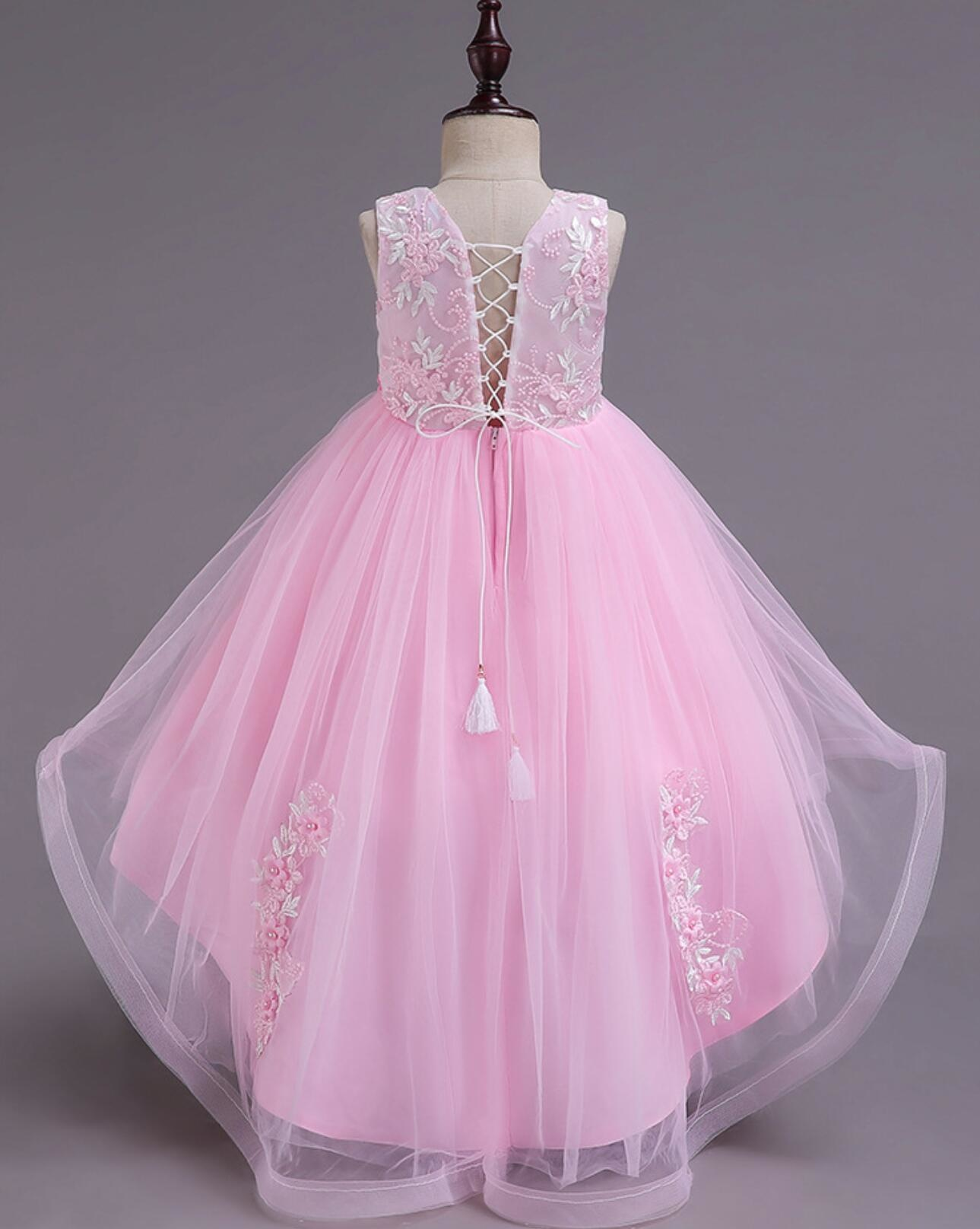 Meisjeskleding Meisjes Feestjurk Camila - roze