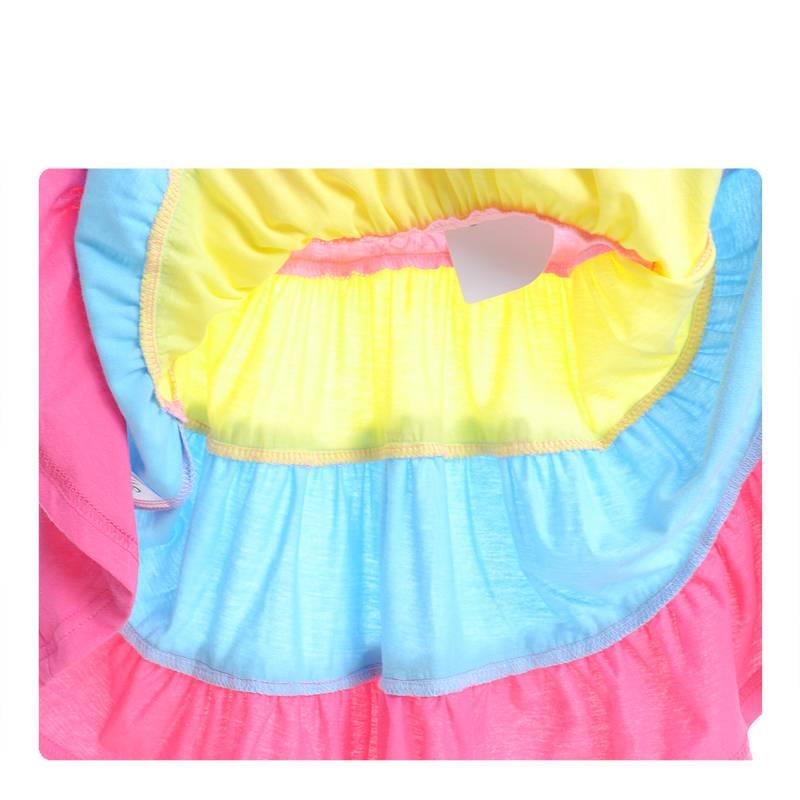 Meisjeskleding Frozen Meisjes Jurk - roze / geel / blauw