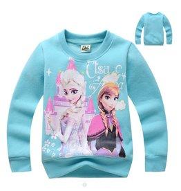 Meisjeskleding Frozen Sweater - hemelblauw
