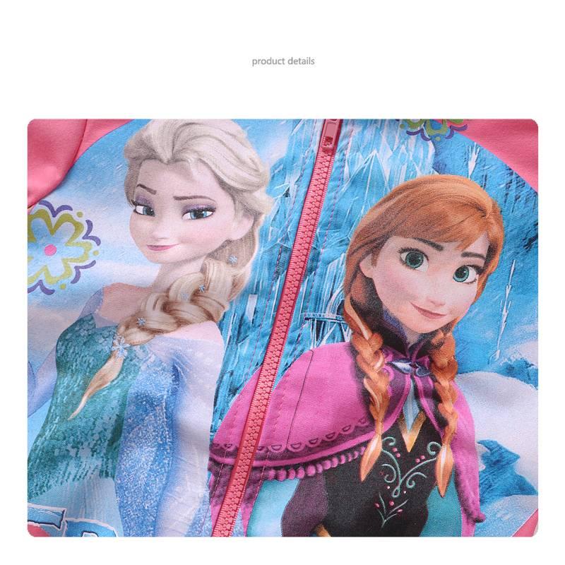 Meisjeskleding Frozen Meisjes Sweatvest 6 - zalm / lichtrood