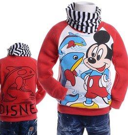 Jongenskleding Mickey Mouse Sweater 2 - rood